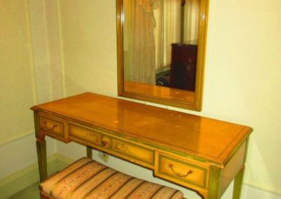Art Deco French vanity and mirror