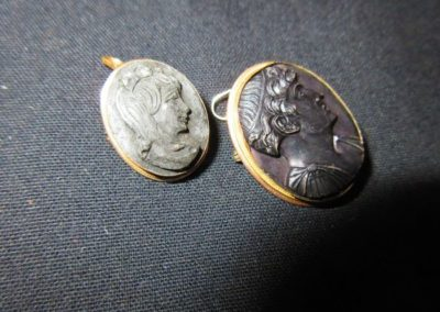 Early 19th century Cameo pins