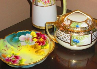 Hand-painted Nippon porcelain