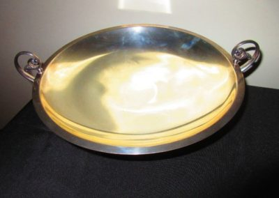 Large Sterling handled bowl by Frank m Whiting