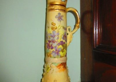Large Victorian hand-painted Ure