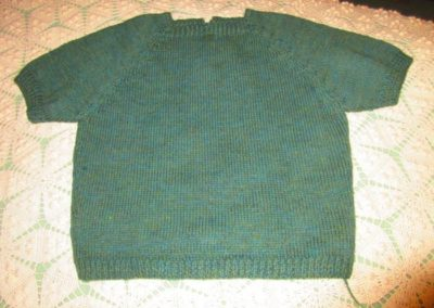Hand-knit 1950 sweater