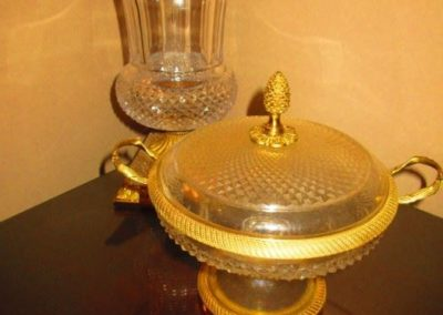 French Crystal with ormolu