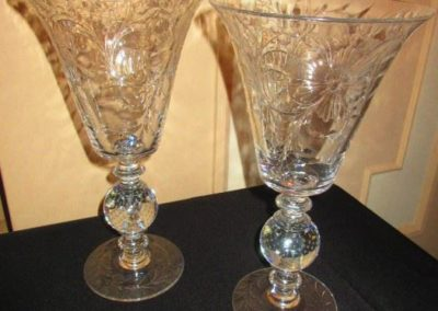 Large pairpoint vases