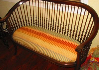 Antique Continental settee