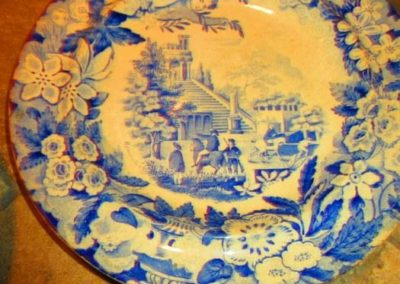 Don pottery transferware plates