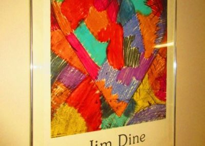 Jim Dine gallery poster