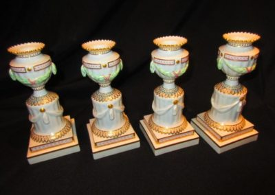 Royal Copenhagen candlesticks