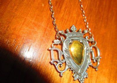 Antique sterling necklace