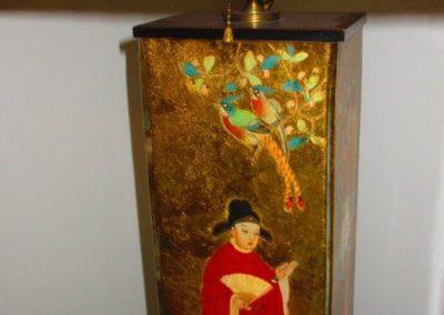 Chinoiserie lamp