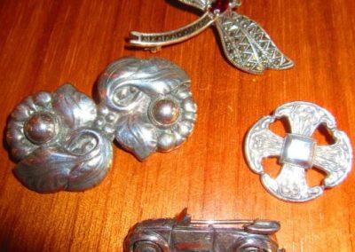Vintage silver jewels