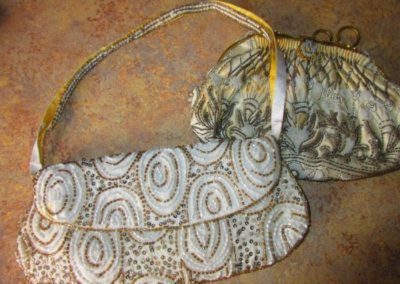 Vintage and antique beaded bags