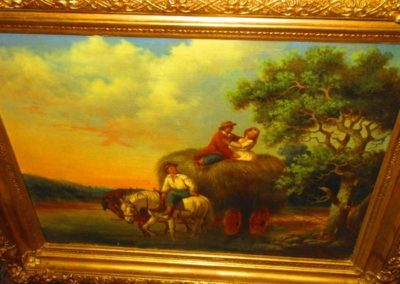 19th century oil on canvas unsigned, British school