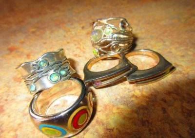 Group of Sterling rings