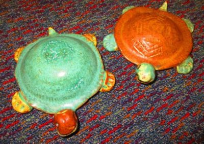 Studio pottery turtles