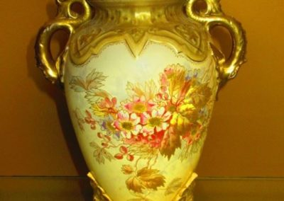 Antique Austrian vase lamp