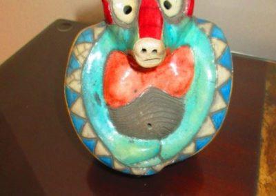 Studio pottery baboon