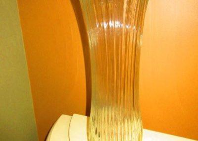 Large molded vase