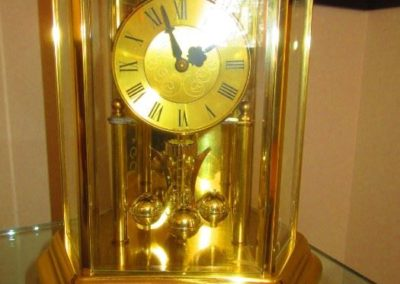 Anniversary carriage clock