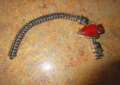Sterling artisan bracelet
