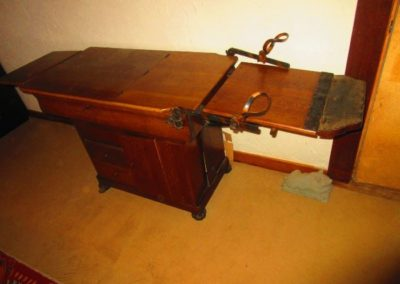 19th century gynecological table