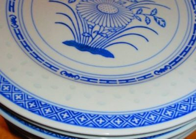 Group of vintage Chinese plates