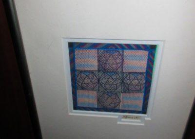 """Sacred Geometry"" by Gary Spinosa mixed media 1979"