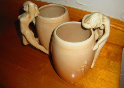 Arch pottery nudie mugs