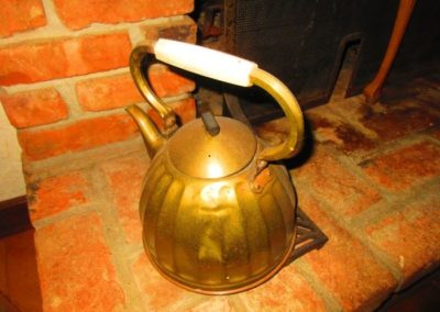 Antique water kettle