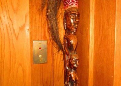 Ethnographic walking stick