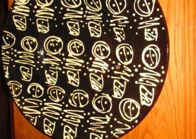 large ceramic platter by Craig Bird