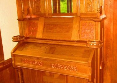 Newman Brothers Victorian pipe organ