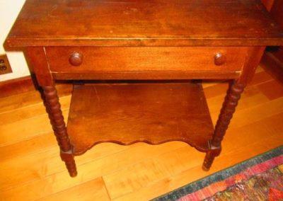 A nineteenth-century washstand