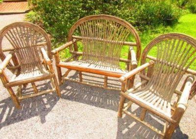 Semi antique Adirondack chairs