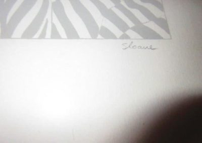 Signature and Phyllis Sloan litho