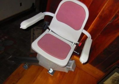 One of two Acorn stairlifts
