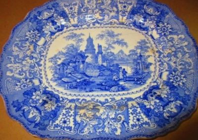 Late 19th century transferware clatter