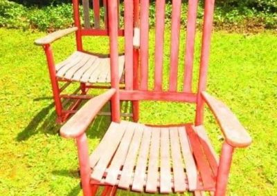 Pair of rocking chairs