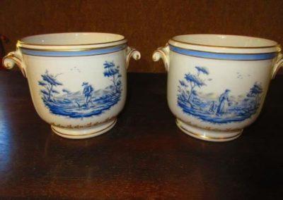 Pair of Richard Ginori cache pots