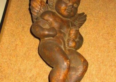 Figure of a cherub