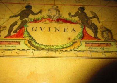 Guinea Map circa 1683
