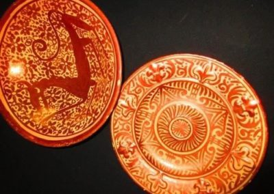 Antique Spanish lusterware