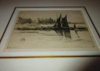 """Hurlingham"" by Whistler (plate destroyed)"
