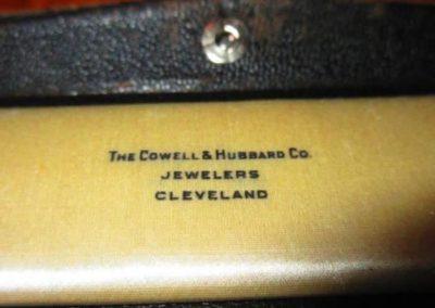 Original box for platinum diamond and pearl bracelet