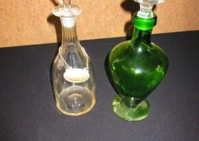 Antique and vintage decanters
