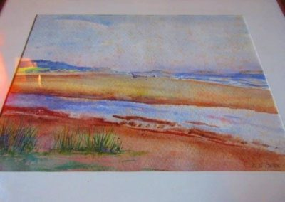 Watercolor by E. G. Pattee