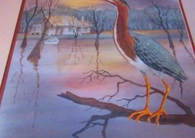 """Louisiana Mud Painting"" by H. Neubig"