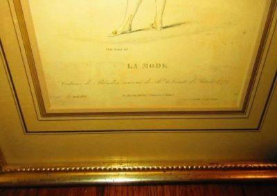 "Carle Vernet del, ""La Mode"" C. 1833"