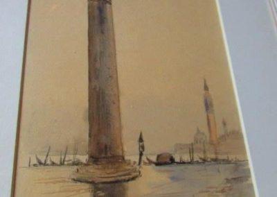 Column Watercolor
