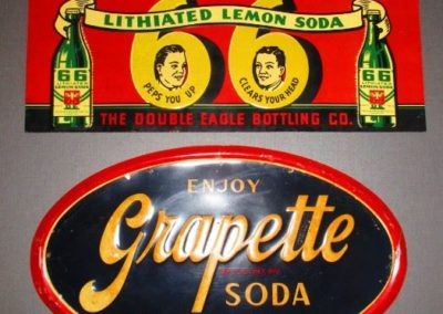 vintage advertising signs